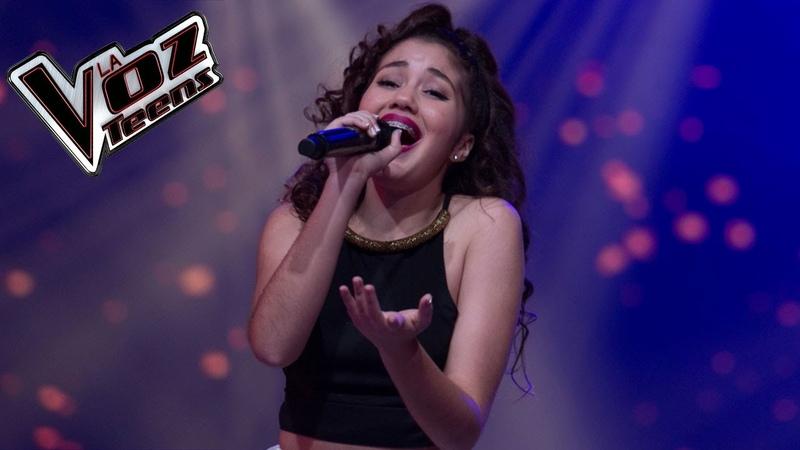 Alaska Gauktier canta 'Amor eterno' | Audiciones a ciegas | La Voz Teens Colombia 2016