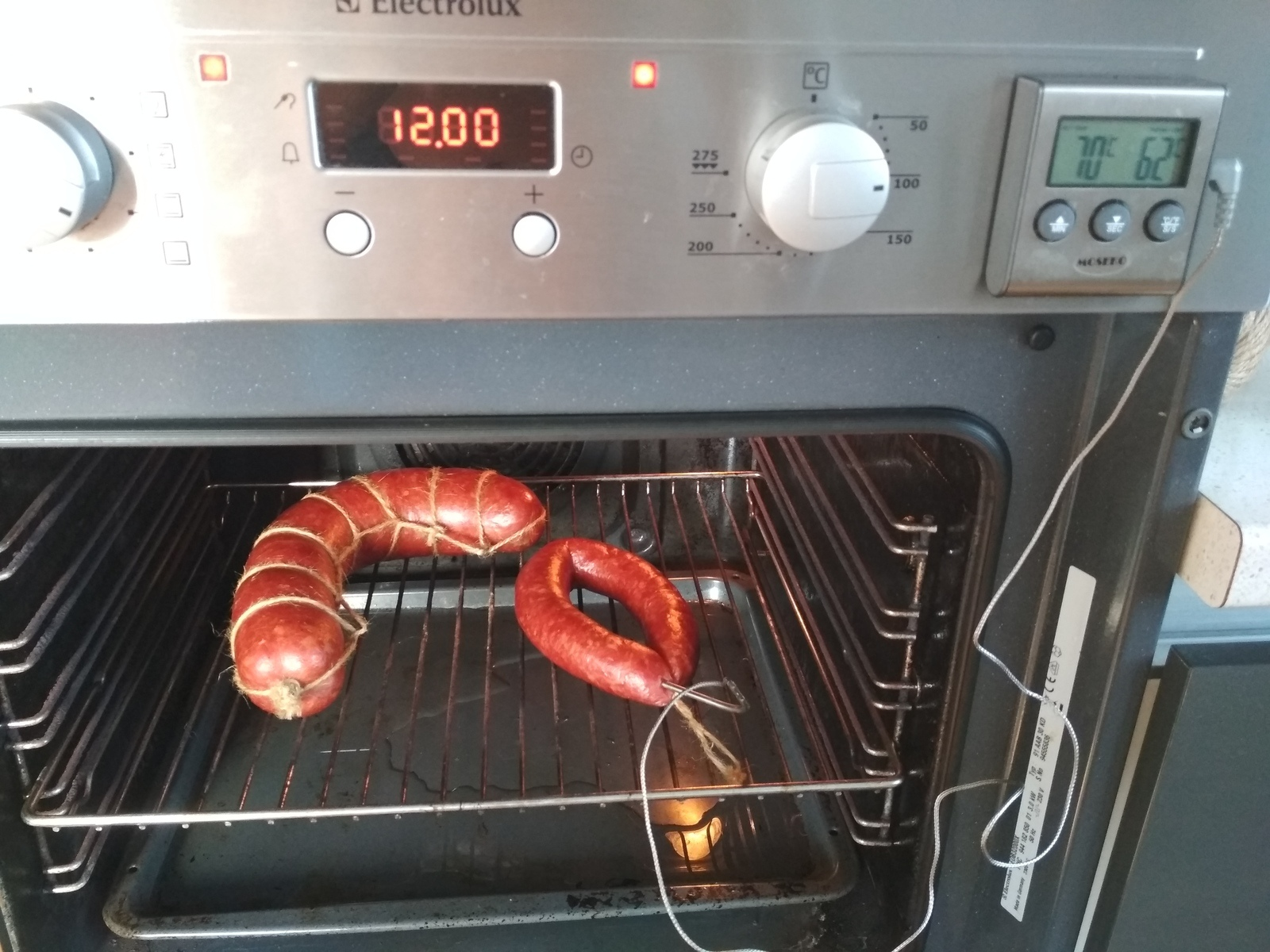 Советская колбаса, о которой я слышал и вот теперь попробовал.