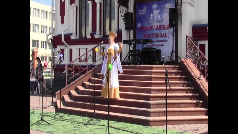 Соколова Елизавета - Русская народная песня «Я на горку шла»
