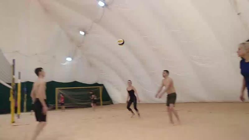 Волейбол 24.03.19 (чуть-чуть не дотянул)