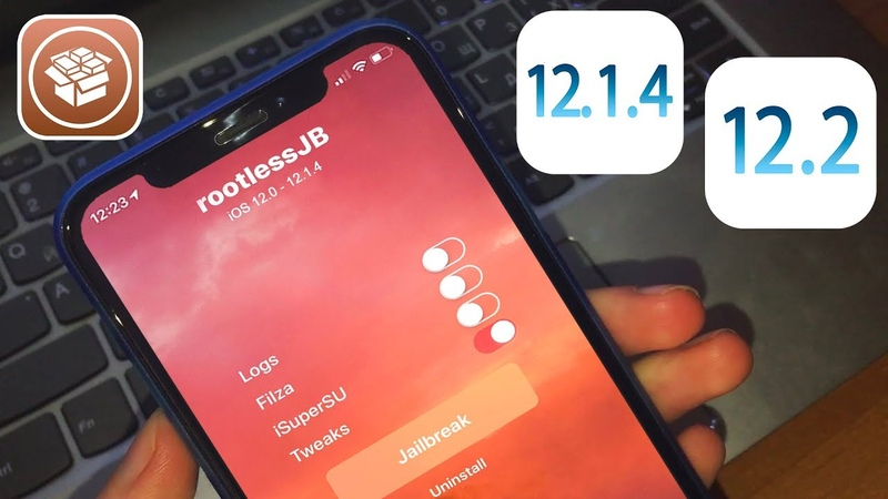 IOS 12 2 12 1 4 Jailbreak RootLess v3 3 NEW Cydia Fixed Tweak Installer