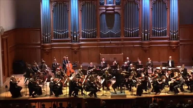 Консерватория. Бетховен. БЗК. Symphony No. 5 Ludwig van Beethoven 18.04.2019 Moscow Conservatory