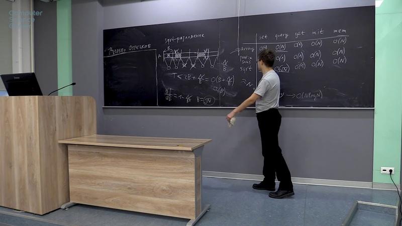 Семинар 9. Дерево отрезков (Алгоритмы и структуры данных, часть 1)