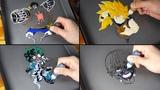 Anime Main Character Pancake Art - One piece, My hero academia, Dragon ball, Tokyo ghoul