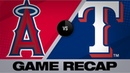 Heaney Trout set career highs in 5 1 win Angels Rangers Game Highlights 8 20 19