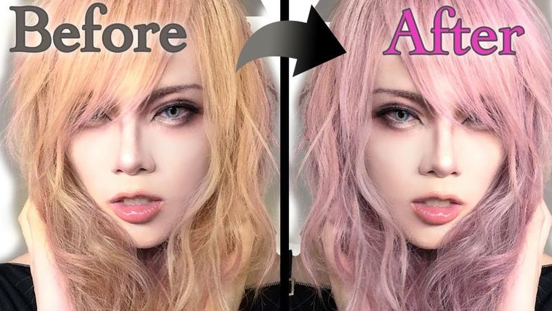 【SV EP.6】ピンク髪の作り方〜How to make pink hair〜