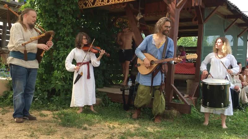 Музыканты на Купале (Красотынка)