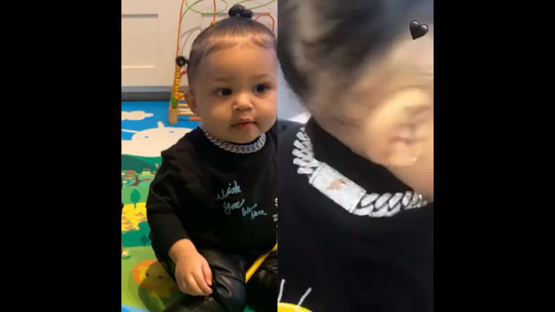 Stormi's style on point🦋⭐️🎻