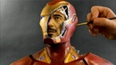 Iron Man Sculpture Timelapse - Avengers: Infinity War/Endgame