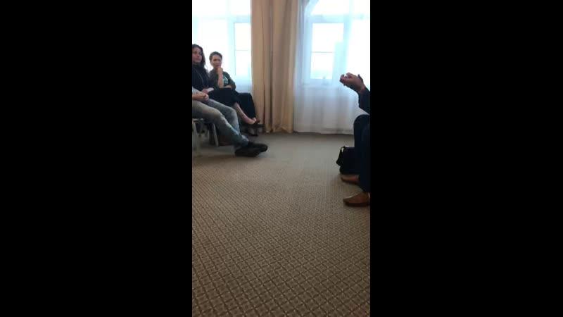 Закрытая встреча предпринимателей с миллиардером Инкогнито
