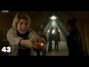 The Thirteenth Doctor saying Yaz's name