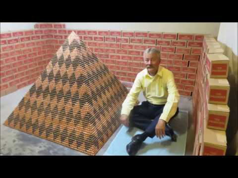 World Record Penny Pyramid 1 030 315 pennies Guinness World Record