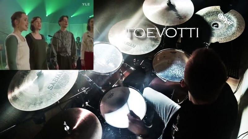 Ievan Polkka Rock Drum Jam Loituma Cover