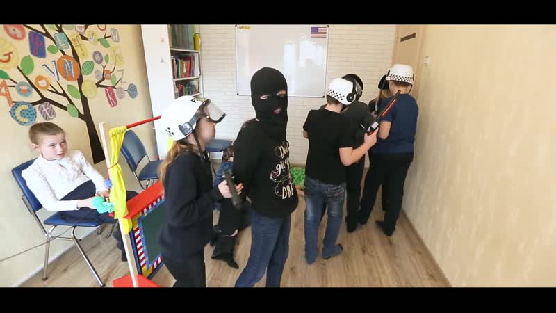 A bank robbery. Group 1.