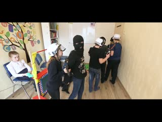 A bank robbery. Group # 1.
