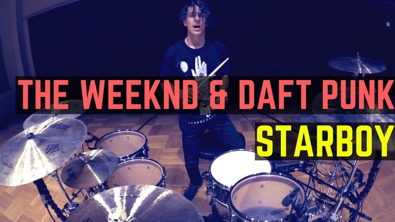 The Weeknd Daft Punk Starboy Kygo Remix Matt McGuire Drum Cover