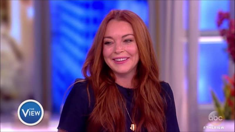 Lindsay Lohan dans The View le 20 Février 2017