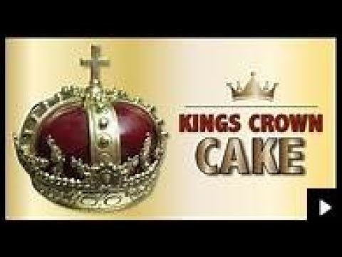 The CROWN CAKE Decorative Cake Art