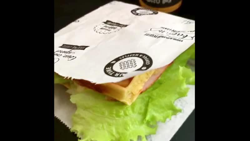 Вафля сэндвич