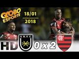 Volta Redonda 0 x 2 Flamengo Globo Esporte 1