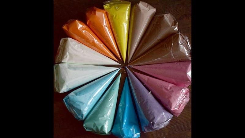 Корнетик из пленки Для айсинга шоколада от Виктории Бредис