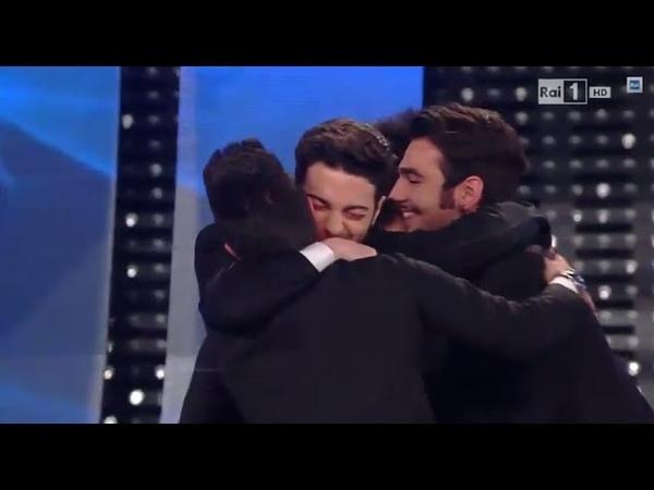 Sanremo 2015 - Il Volo vince con Grande amore - Serata finale 14022015