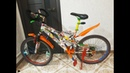 My bike from Ukraine for Venice Electric Light Parade