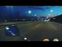 Поездка на мотоцикле Honda по ночному Могилёву