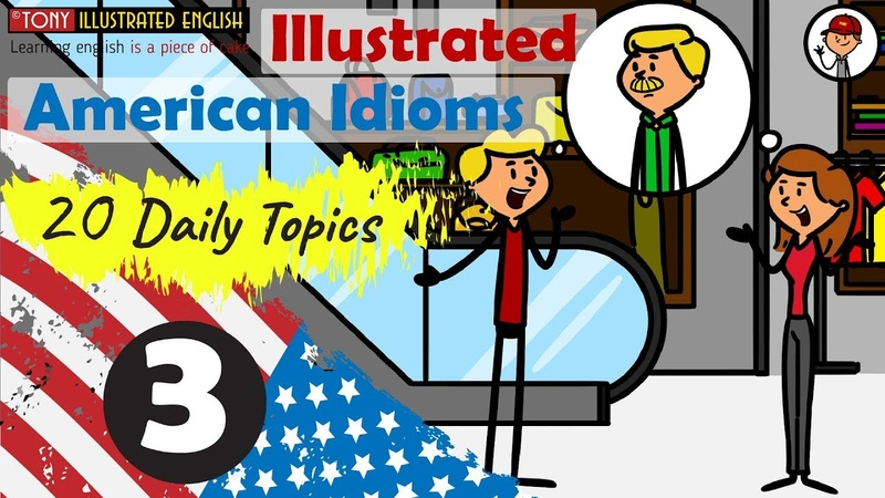 Illustrated American Idioms | Lesson 3 (A gift for Father)