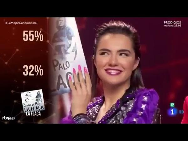 Agoney fue el segundo concursante más votado en la final de la Mejor Canción Jamas Cantada 5 4 19