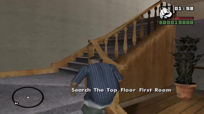GTA San Andreas DYOM Robbery in CJ house