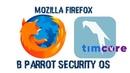 Mozilla Firefox в Parrot Security OS Timcore