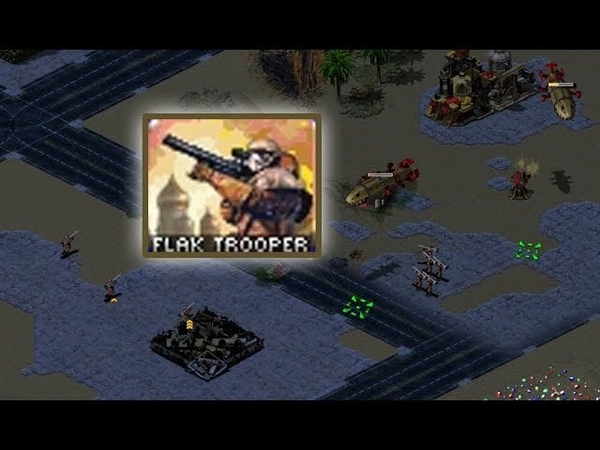 Red Alert 2: Yuri's Revenge - Testing Flak Troopers