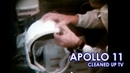 APOLLO 11 Stabilized TV - LM equipment and Earth (1969/07/18 21:55) [60fps]