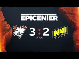 Virtus.pro 3:2 Navi Epicenter Qualifier Grand Finals
