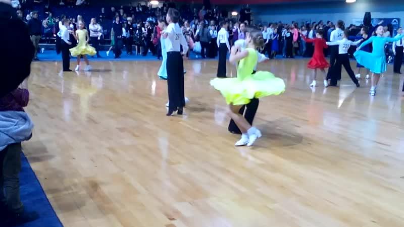 Щуревич Ксения и Дрозд Дмитрий на Открытые чемпионаты и первенства по бальным танцам 2019
