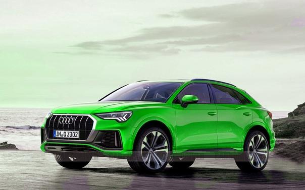 Премьера первого кросс-купе от Audi назначена на июль.