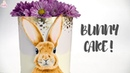 Hand Painted Bunny/Spring Buttercream Cake Tutorial!