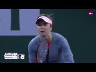 Бьянка Андрееску - Элина Свитолина 1/2 Indian Wells 2019 Bianca Andreescu - Elina Svitolina