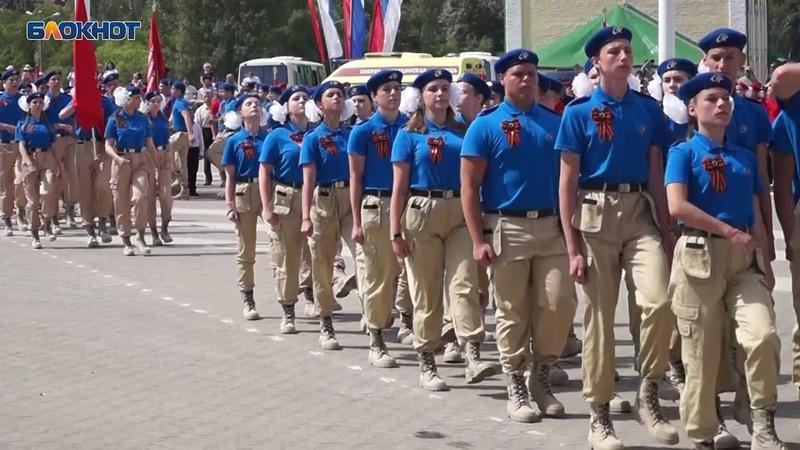 Присяга юнармейцев в Воронеже