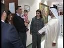 زيارة الشيخ محمد بن راشد لمستشفى الاكاديم 16