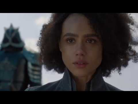 Missandei Death Scene Killed by The Mountain Game of thrones S8E4