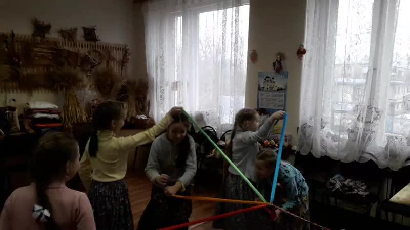 На репетиции младшей группы Веретёнца