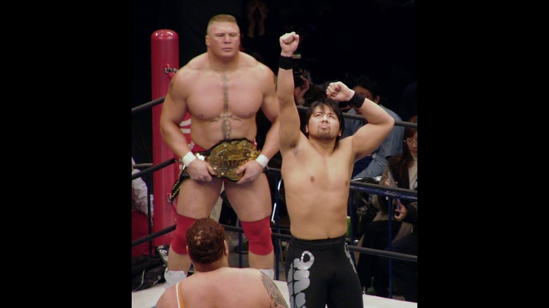 Brock Lesnar vs.Shinsuke Nakamura NJPW