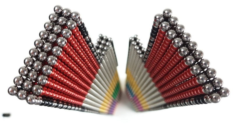 20000 Magnetic Balls to Build The Willis Tower | Magnetic Games