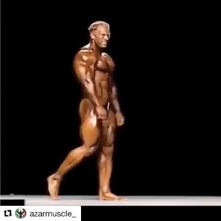"""Dennis Wolf on Instagram: """"Most Muscular Monday everyone! Eine schöne und erfolgreiche Woche wünsche ich Euch✌️ Stay hungry like a Wolf! @gnlaborat..."""