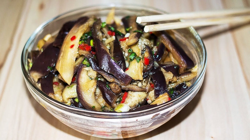 Гениальный Рецепт! 🍆 Баклажаны по - Корейски ✧ Корейская Кухня ✧ Ирина Кукинг