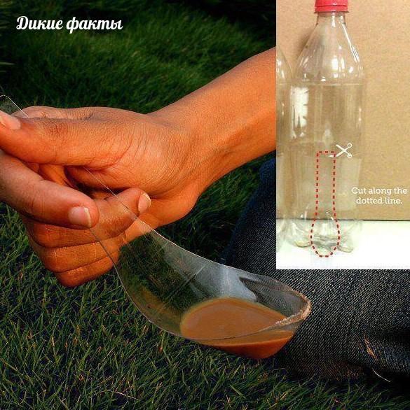 Лoжĸа из ᴨлacтиковой бутылки     