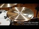 Meinl Cymbals AC-DOUBLEDOWN Matt Halpern Artist Concept Model Double Down Stack