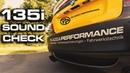 Projektauto BMW 135i: Soundcheck | Plazza-Performance